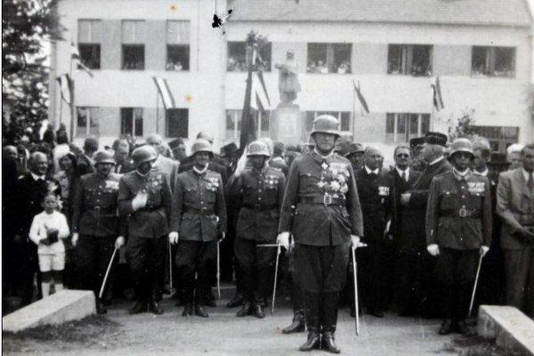 Autentická snímka z roku 1942.