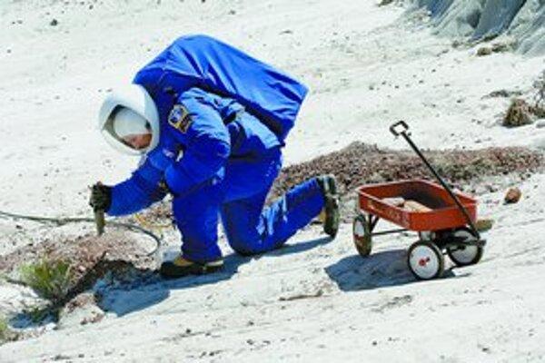 V Severnej Dakote vyvinuli skafandre, ktoré by mohli použiť pri ľudskom výsadku na Marse.