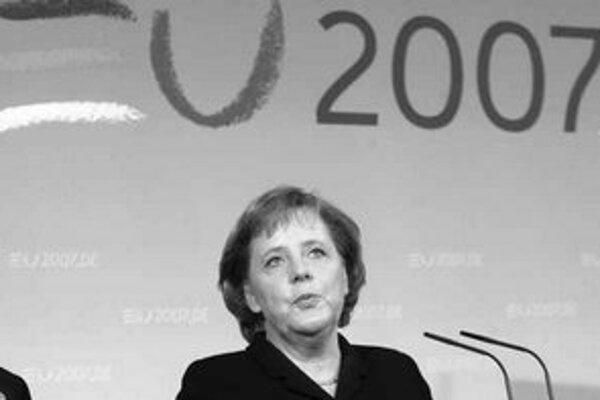 Najmocnejšia žena Nemecka Angela Merkelová.