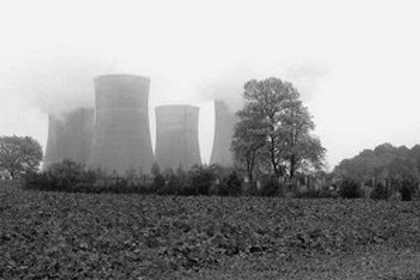 Súčasné dva bloky jadrovej elektrárne v Mochovciach.