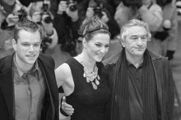 Matt Damon, Martina Gedeck a Robert de Niro v Berlíne.