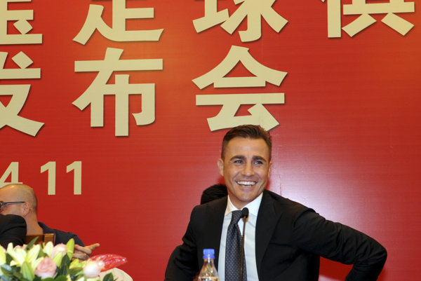 Fabio Cannavaro.