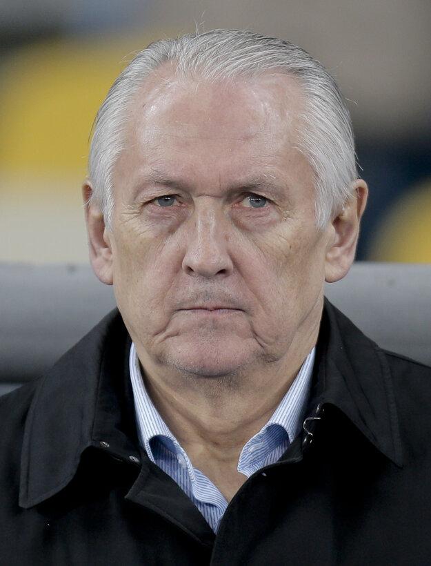Tréner Fomenko si uvedomuje, že Ukrajina môže iba prekvapiť.