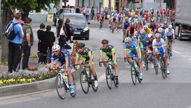 Tvrdošínom išli profesionáli v rámci pretekov Okolo Slovenska v piatok i sobotu.