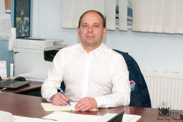 Milan Murček, riaditeľ MHC Martin