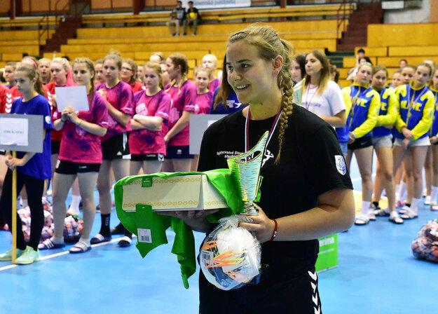 Šaliansky klub sa na ceremoniáli rozlúčil talentovanou s Barborou Lanczovou. V budúcej sezóne totiž bude pôsobiť v maďarskom Győri.