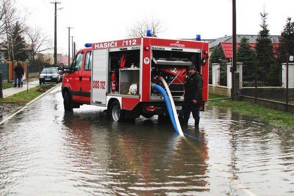 Jeden zo zásahov palárikovských obecných hasičov.