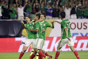 Mexičania idú do štvrťfinále z výhodnejšieho prvého miesta vo svojej skupine.