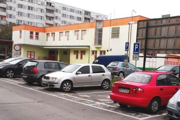 Šoltésovej ulica v Nových Zámkoch.
