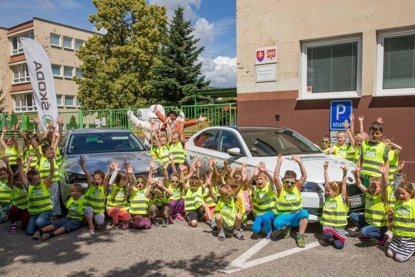 Projekt ŠKODA Hrou bude učiť dopravnú výchovu aj predškolákov.