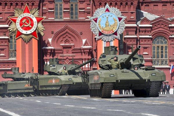 Vojenská prehliadka v Moskve