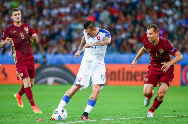 Marek Hamšík na európskom šampionáte potvrdzuje svoje kvality.