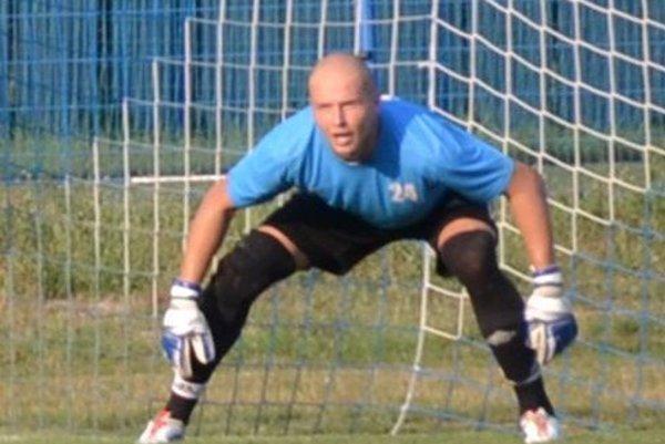 Peter Lauko, gólman Kalinova.