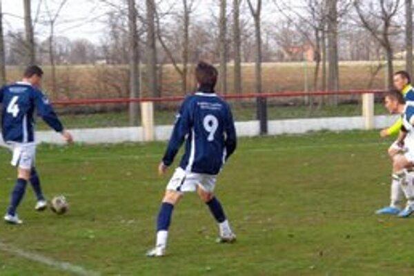 Zo zápasu Michal n./Žitavou - Trávnica 4:0
