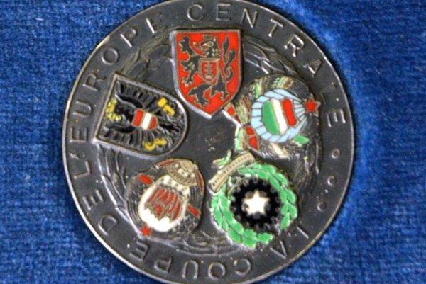 Strieborná medaila z finále Stredoeurópskeho pohára