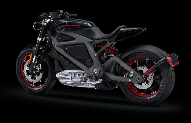 Štúdia Harley-Davidson LiveWire z roku 2014.