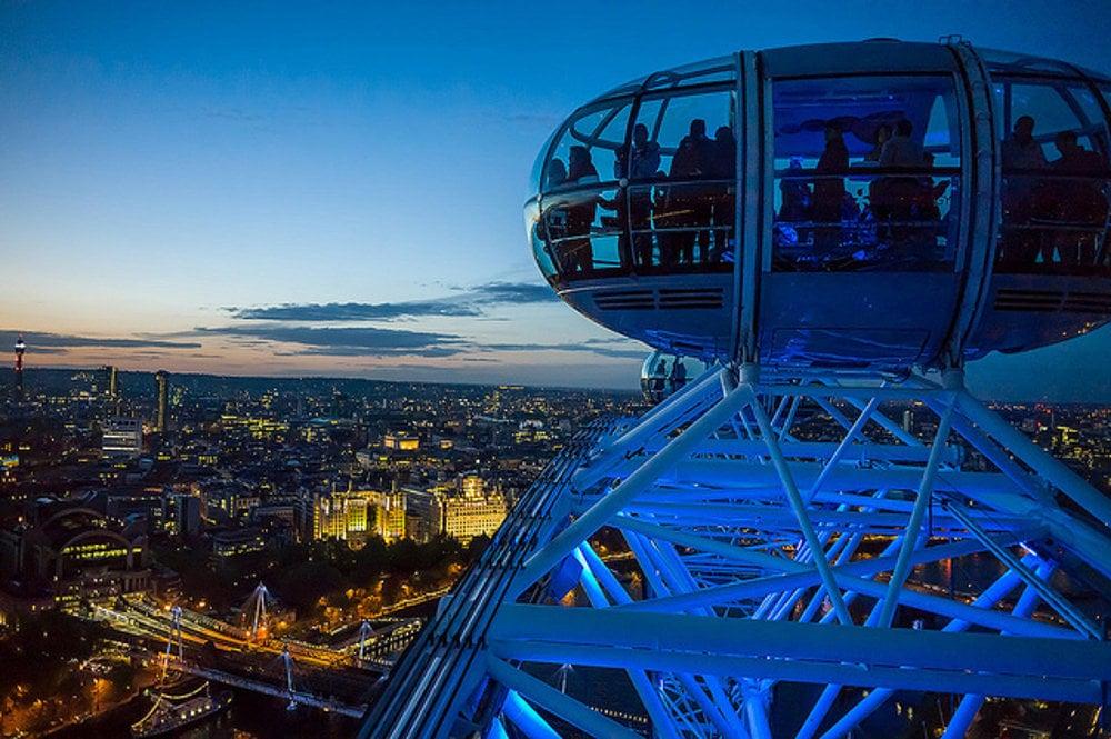 Londýnske oko ponúka úchvatné výhľady na celé mesto.