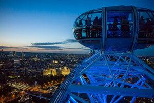Londýnske oko ponúka úchvatné výhľady.