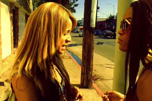Kitana Kiki Rodriguez a Mya Taylor vo filme Transdarinka.