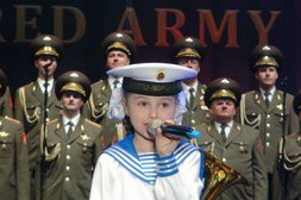 Najmladšia členka súboru bola osemročná Lery.