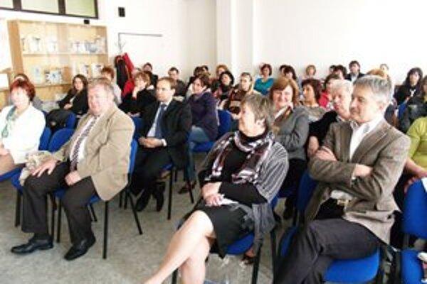 Regionálnej konferencie Učíme pre život sa zúčastnilo okolo osemdesiat učiteľov.