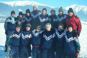 Počas zimného sústredenia v Borovci.