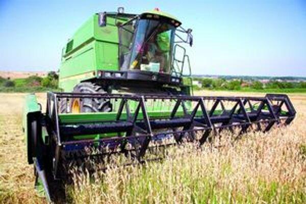 Niektorí poľnohospodári hovoria o rekordných výnosoch.