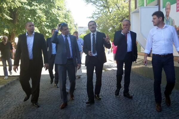 Minister na návšteve Fiľakova.