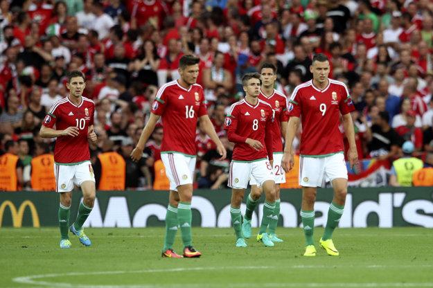 Maďari sa zdajú byť zaskočení z belgickej aktivity a ofenzívnej hry.