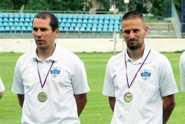 Michal Kuruc by mal v Nitre pokračovať. Jeho asistent Csaba Gábriš sa však už stal kondičným trénerom A-mužstva DAC Dunajská Streda.