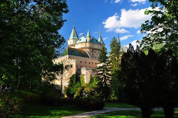 Model Bojnického zámku bol najnáročnejší.