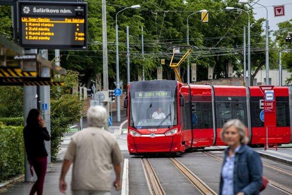 Bratislavčanov čakajú opäť zmeny v doprave. ILUSTRAČNÉ FOTO