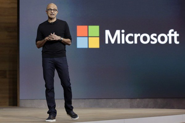 Šéf Microsoftu Satya Nadella.