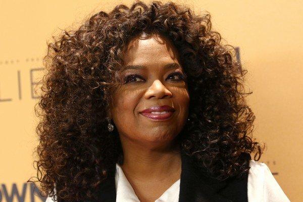 Moderátorka Oprah Winfrey.