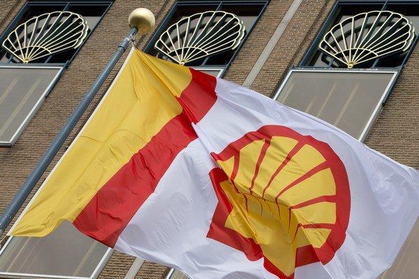 Logo spoločnosti Shell.