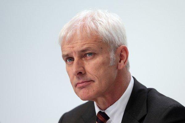 Generálny riaditeľ Volkswagenu Matthias Müller.