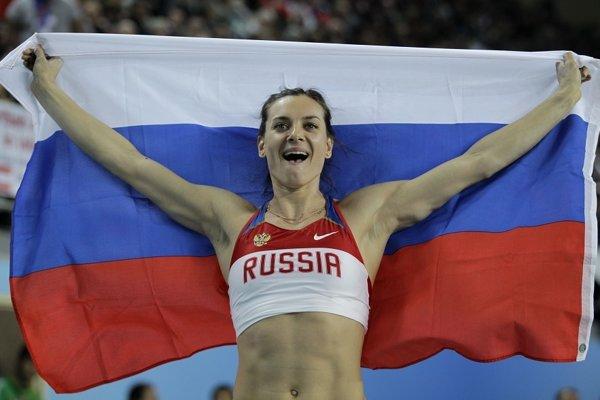 Jelena Isinbajevová mala v Riu patriť medzi najväčšie hviezdy.
