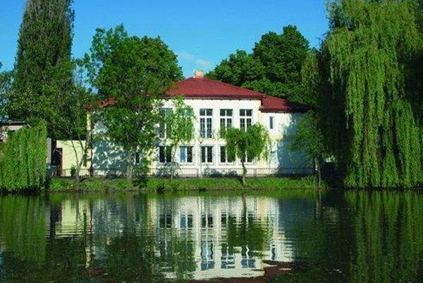 Lučenecký park.
