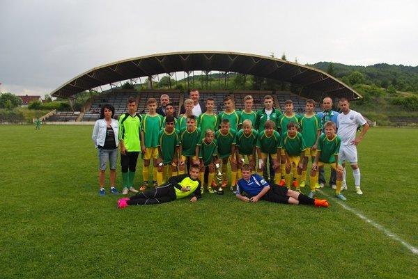 Úspešné žiacke družstvo MFK Detva