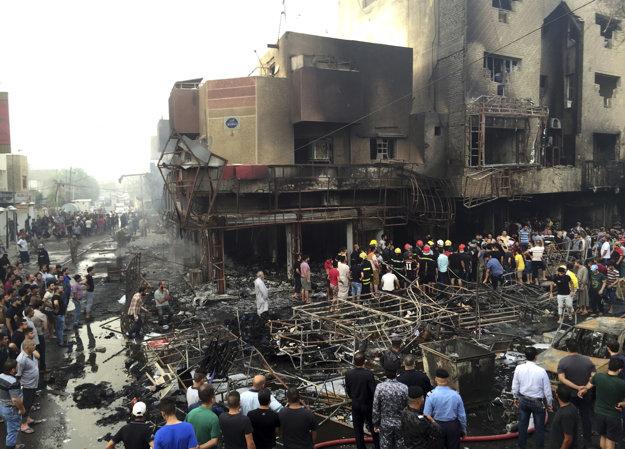 Islamský štát opäť zaútočil v Bagdade.