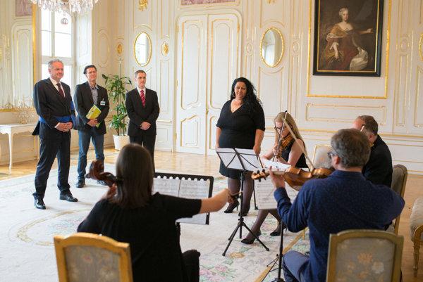 Súkromný koncert Sendreiovcov v prezidentskom paláci.