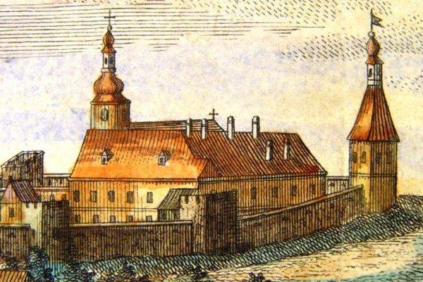 Takto vyzeral kláštor klarisiek v minulosti.