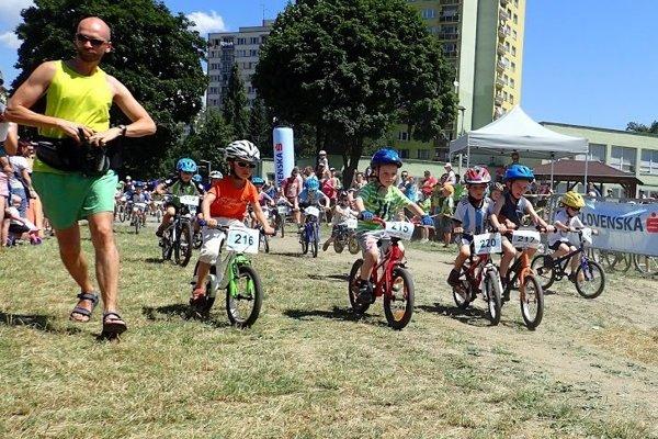 Súčasťou 9. ročníka bola aj Detská tour Petra Sagana. Na štart sa postavili takmer štyri stovky.