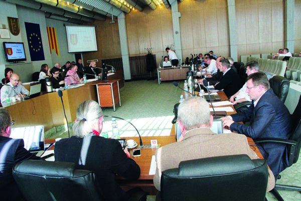 V Galante zasadal mestský parlament za rok apol 22 krát.
