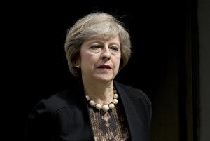 Ministerka vnútra za konzervatívnu stranu Theresa Mayová.