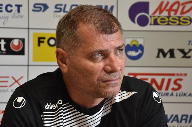 Tréner Mikuláš Radványi.