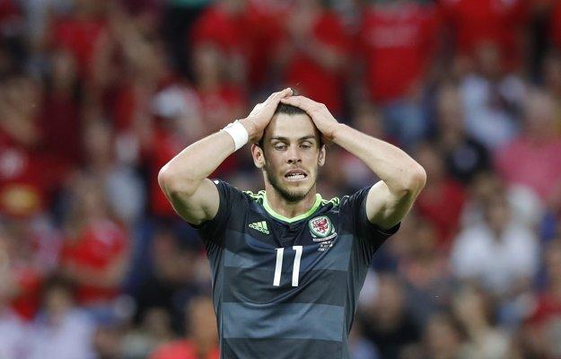 Gareth Bale sa v tomto stretnutí zatiaľ nepresadil.