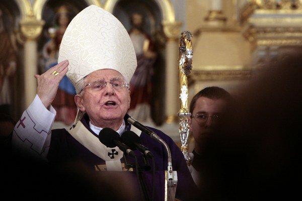 Bývalý arcibiskup trnavský Ján Sokol.