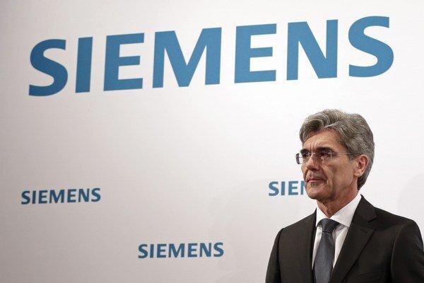 Šéf Siemensu Joe Kaeser.