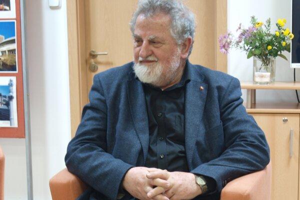 Milan Richter v nitrianskej knižnici.